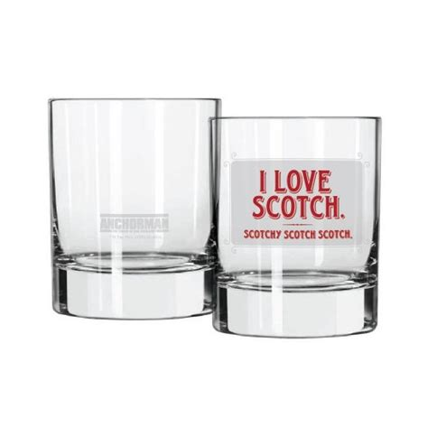 anchorman cocktail glass i love scotch home garden