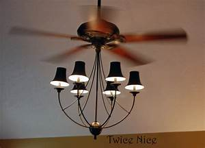 Ceiling fan chandelier light kit baby exit