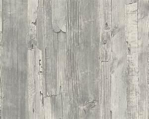 Klebefolie Holzoptik Vintage : vliestapete 95405 4 wood n stone holz optik grau bei hornbach kaufen ~ Eleganceandgraceweddings.com Haus und Dekorationen