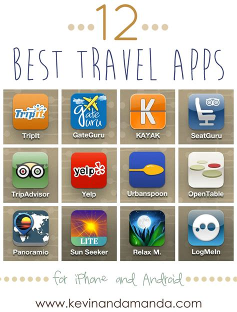 my favorite and free travel apps kevin amanda