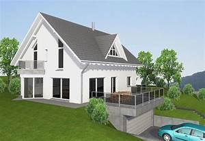 Einfamilienhaus Hanglage Planen : delta haus gmbh variante hanglage ~ Lizthompson.info Haus und Dekorationen