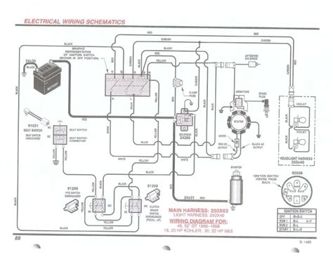 craftsman lt 1000 wiring diagram wiring diagram and