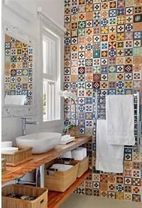 comment decorer avec le carrelage ancien 62 photos pour With meuble salle de bain suedois