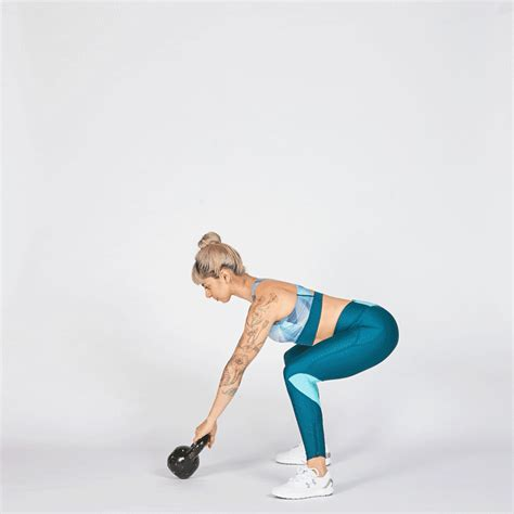 kettlebell swing exercises strength endurance workout moves swings build combo training pain glutes strong minute myfitnesspal lumbar weak lower burpees