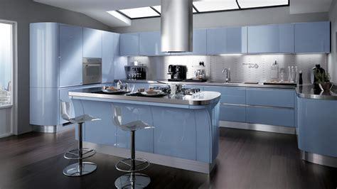 cuisine modern cocinas integrales modernas en color celeste colores en casa
