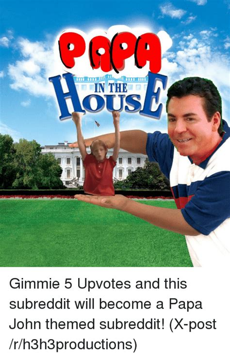 Papa Johns Memes - in the gimmie 5 upvotes and this subreddit will become a papa john themed subreddit x post