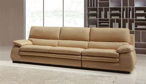 Carleto Luxury Leather Sofa  4 Seater  High Quality
