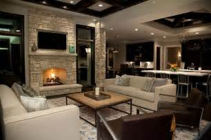 livingroom fireplace fireplace wall with flatscreen tv niche transitional living room
