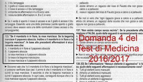 Test Ingresso Medicina 2016 by Test Medicina 2016 Il Quiz Un Copia E Incolla Dei Manuali