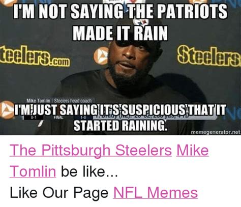 Mike Tomlin Memes - official steelers patriot smack talk thread page 60 sportshoopla sports forums