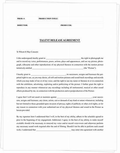 Release Form Template Actor Film Studiobinder Forms