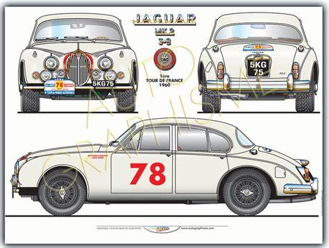 jaguar mk2 3l8 tour de jaguars automobile jaguar voiture
