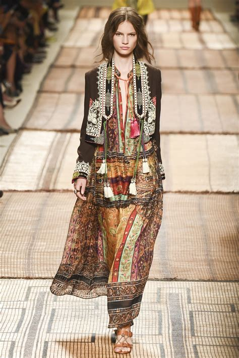 etro spring 2017 ready to wear fashion show bohemiana