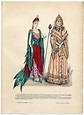 Fancy dress, 1890 France, La Mode Illustree Music ...