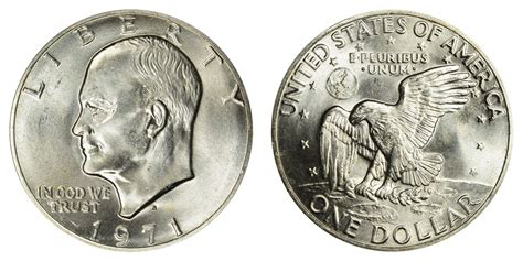 specifications eisenhower silver dollars 1971 s eisenhower dollar silver clad coin value prices photos info