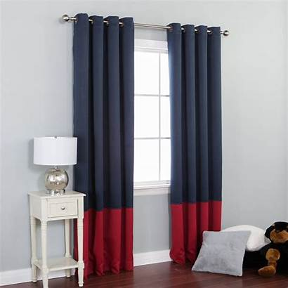 Curtains Grommet Blackout Navy Curtain Bronze Thermal