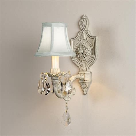 vintage cream cottage chic sconce wall sconces by