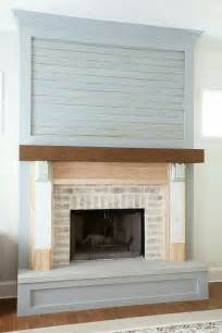 Diy Fireplace Update by The 25 Best Ideas About Shiplap Fireplace On Pinterest