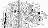 Slugterra Coloring Pages Line Ready Colour Chavos Cd Los Making Sommariva Sketch Imgarcade Credit Larger sketch template