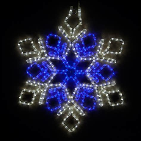 snowflakes stars  led double diamond snowflake