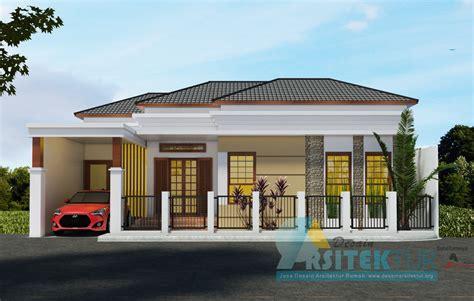 jual desain rumah 1 lantai mewah 150m rumah desain egrafis