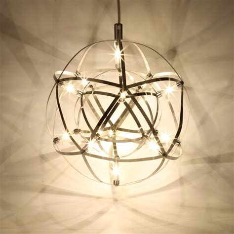 suspension chandelier 12w led mordern globe shade suspension pendant light