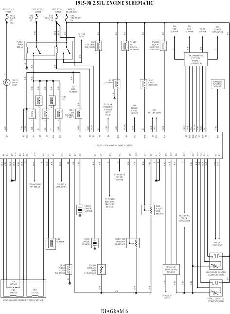 Autocar Truck Wiring Diagram by Wiringdiagrams Engine Schematic Wiring Diagram For Acura