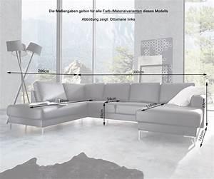 Wohnlandschaft 300 Cm Breit : couch silas schwarz 300x200 cm ottomane links designer wohnlandschaft by delife ebay ~ Indierocktalk.com Haus und Dekorationen