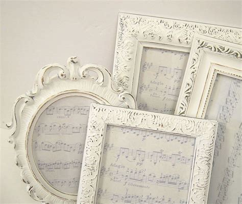 how to shabby chic a picture frame picture frames shabby chic picture frame by mountaincoveantiques
