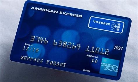 Payback Karte Beantragen Amex Payback Card With Payback