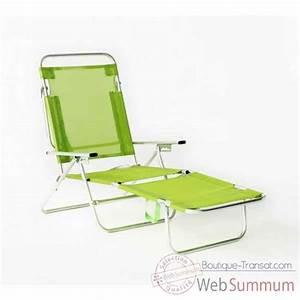 Transat De Plage Pliable : segura 175 chaise longue de plage pliable multipositions longueur transat ~ Teatrodelosmanantiales.com Idées de Décoration