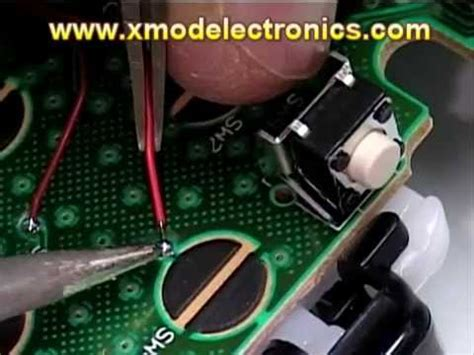 xmod rapid fire mod chip  install  modes jitter