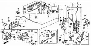 1998 Honda Crv Parts Diagram