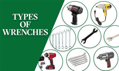 21 Different Types Of Wrenches And Their Uses With Pictures