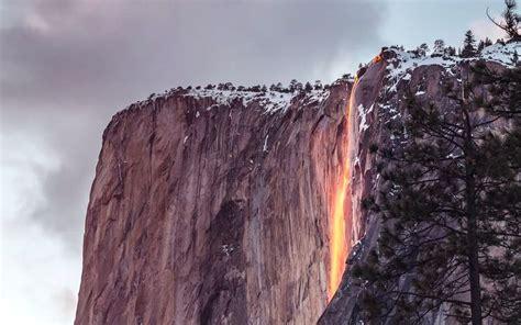 Stunning Yosemite Park Waterfall That Looks Like
