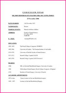 curriculum vitae for college freshmen how to write a resume for admission