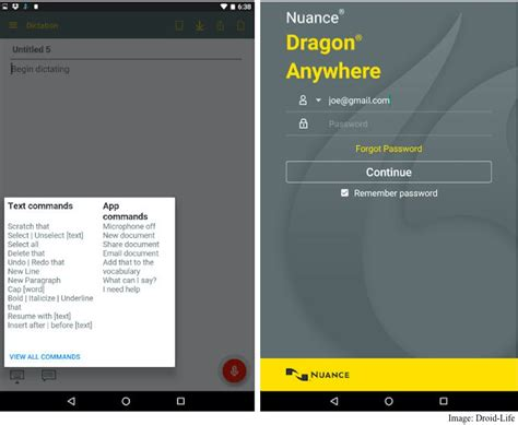 Dragon Anywhere Advanced Dictation App Launches on Android ...