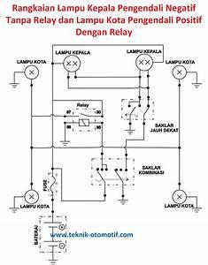 Wiring Diagram Lampu Rem Mobil