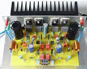 70w Mosfet Power Amplifier