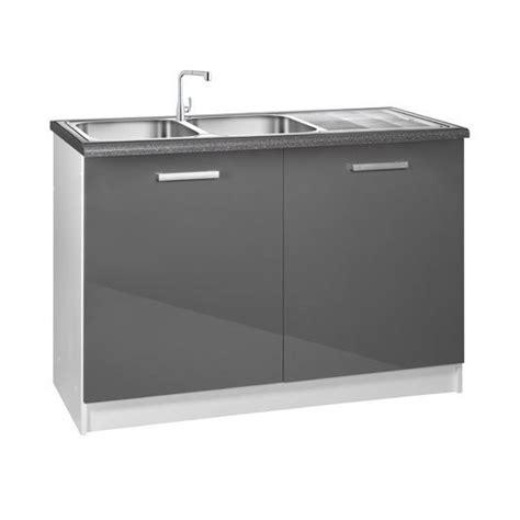 meuble sous evier cuisine meuble cuisine bas 120 cm sous évier tara achat vente