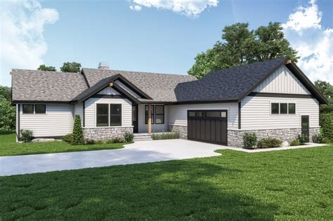Craftsman Style House Plan 3 Beds 2 5 Baths 2964 Sq/Ft