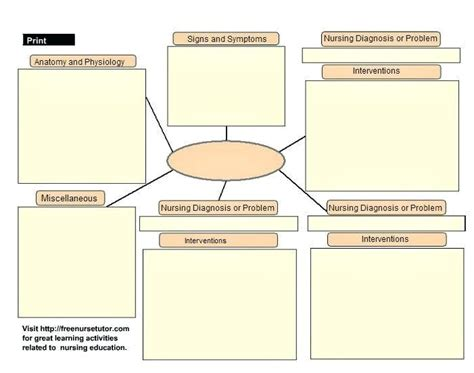 emergency care plan templates  examples  word