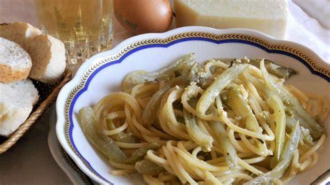 come cucinare carbonara spaghetti e puntarelle alla carbonara cucinare it