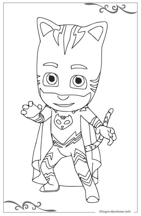 disegni da colorare per bambini pigiamini pj masks pigiamini disegni da colorare per bambini