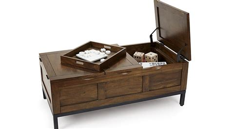 Square coffee table with a very large size. 50+ Square Chest Coffee Tables | Coffee Table Ideas