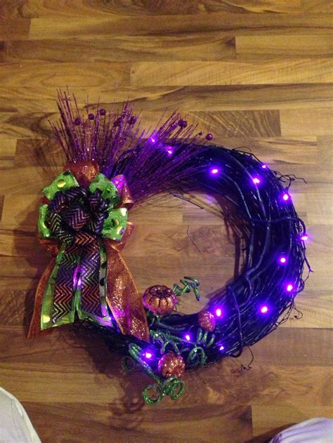 light up wreath my creations https www