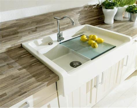 granit blanc cuisine évier granit de design moderne par schock