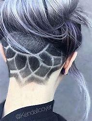 Undercut Hair Design Tattoo