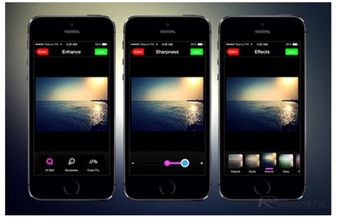 photo editing apps for iphone prettify aviary based photo editing app for iphone