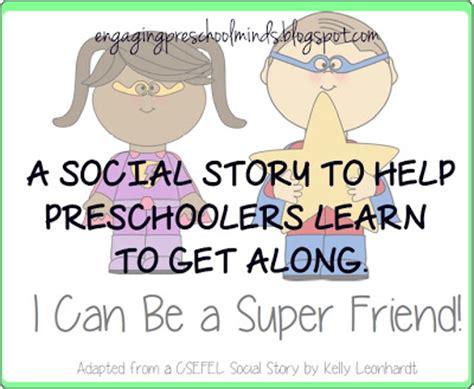 engaging preschool minds amp hearts engaging preschool 975 | Super Friend Social Story Pic